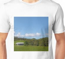 Farm shed on rural property Unisex T-Shirt