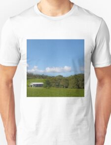Farm shed on rural property T-Shirt