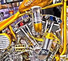 Gold Digger Chopper by RoySorenson