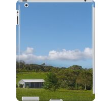 Farm shed on rural property iPad Case/Skin
