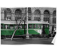 Green Machine Poster