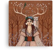 Wood Witch Canvas Print