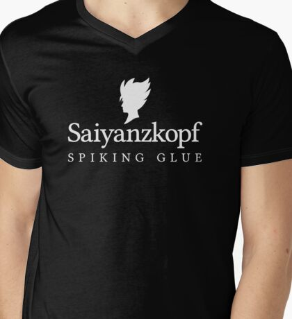 Super Saiyan Hair Gel (2nd Version)  Mens V-Neck T-Shirt