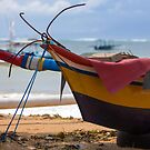 Traditional Fishing Boat, Sanur Beach, Bali by Vince Russell