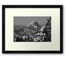 Half Dome in Spring Framed Print