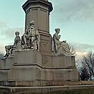 Base of the Soldiers National Monument, Gettysburg National Cemetery by Jane Neill-Hancock