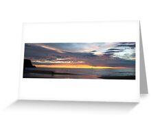 Dawn Panorama Greeting Card