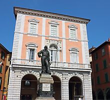Piazza Garibaldi in Pisa by kirilart