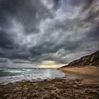Point Lonsdale Back Beach by Heather Prince