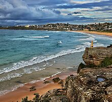 Curl Curl Beach - Sydney by Ian English