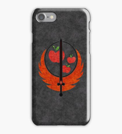 Applejack's Rangers Logo iPhone Case/Skin
