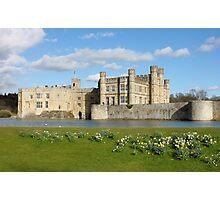 Leeds Castle in Kent United Kingdom Photographic Print