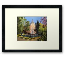 Public Library in Russe Framed Print