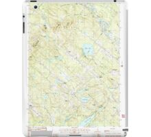 USGS TOPO Map New Hampshire NH Baxter Lake 329478 1987 24000 iPad Case/Skin