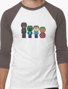 minecraft!!!!!!!! Men's Baseball ¾ T-Shirt