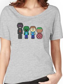 minecraft!!!!!!!! Women's Relaxed Fit T-Shirt