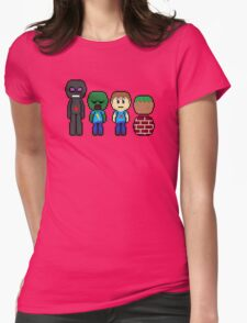 minecraft!!!!!!!! Womens Fitted T-Shirt