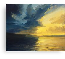 The Sunset of Light and Shadows Canvas Print