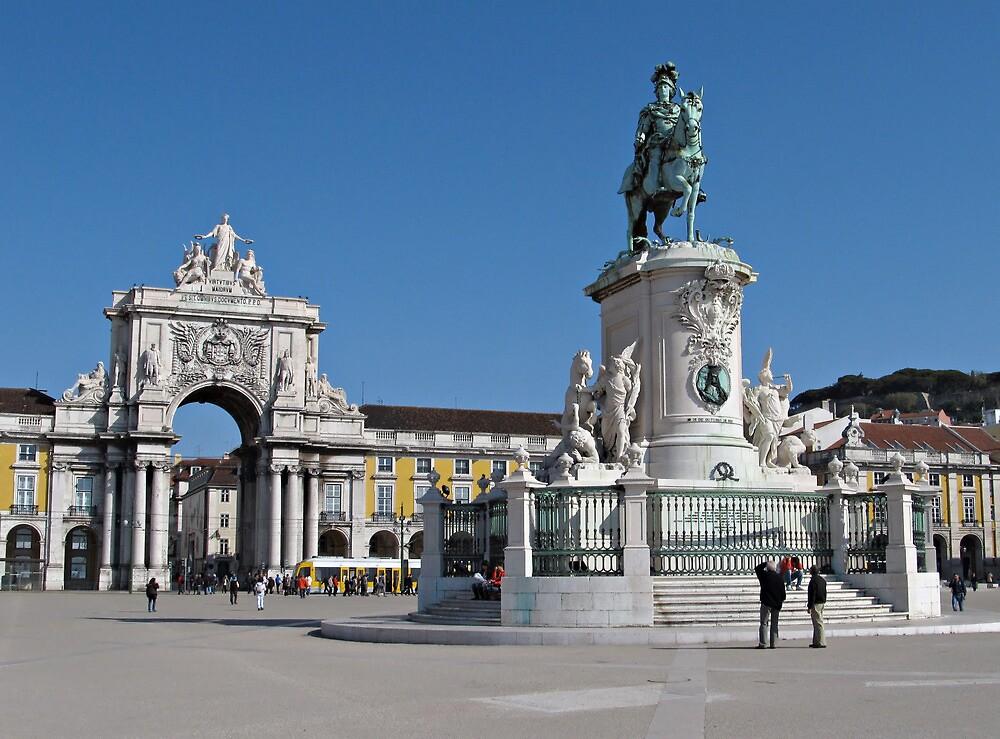Lisbon Commerce Square by kirilart