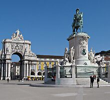 Lisbon Commerce Square by kirilart