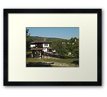 Traditional house in Architectural Preserve Bojenci Framed Print