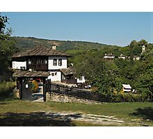 Traditional house in Architectural Preserve Bojenci Photographic Print