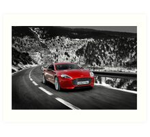 The new Aston Martin Rapide S ... Art Print