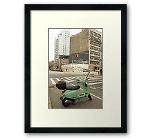 Scooter Un Framed Print
