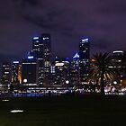 """City Lights"" Sydney City Australia by Toni McPherson"