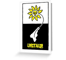 Lifetaker Graphic Poster Greeting Card