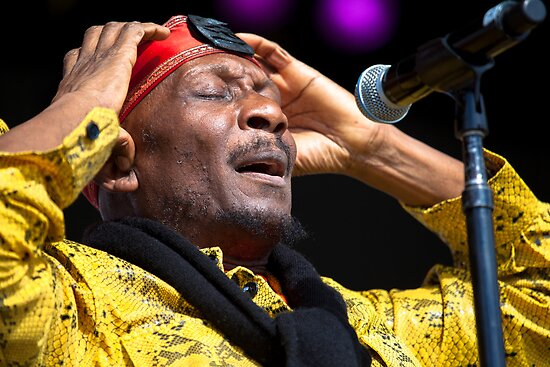 Jimmy Cliff by Natalie Ord