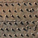Ancient metal fortification gates by kirilart