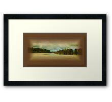 Wallis Lake Forster Keys Framed Print