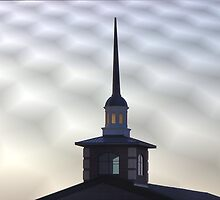 Steeple of Faith Church, Sherman, Texas, USA by aprilann