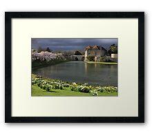 Leeds Castle in Kent United Kingdom Framed Print