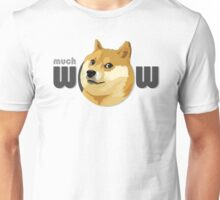 So Doge, much dog, many swag Unisex T-Shirt