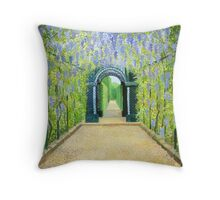 Schoenbrunn in Vienna The Palace Gardens Throw Pillow