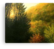The Sun Hour Canvas Print