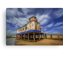 Lifeboat Station Canvas Print