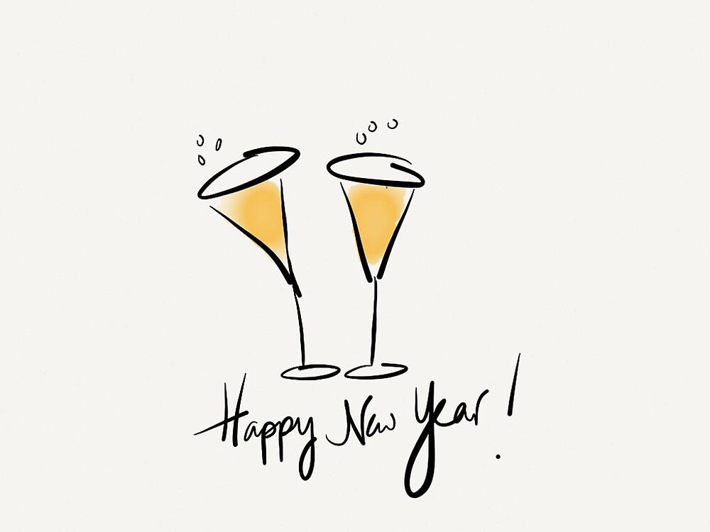 Happy New Year by Pamela Shaw