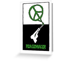 Peacemaker Graphic Poster Greeting Card