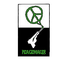 Peacemaker Graphic Poster Photographic Print