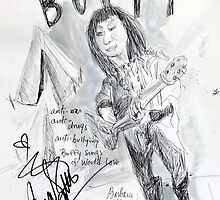Buffy St. Marie by Barbara Mann