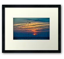 Eemmeer early morning Framed Print
