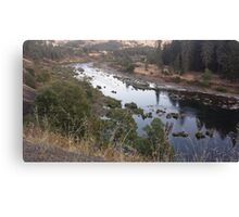Wandering River Canvas Print