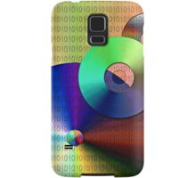 Abstract Binary Disks Samsung Galaxy Case/Skin