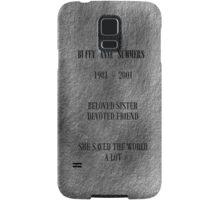 Buffy Anne Summers Samsung Galaxy Case/Skin