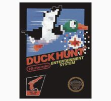 Duck Hunt Nes Art by Funkymunkey