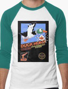 Duck Hunt Nes Art Men's Baseball ¾ T-Shirt