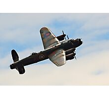 The Avro Lancaster Bomber Photographic Print